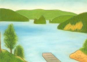 Dixie View, Ojibway, Lake Temagami, Ontario 2002 a