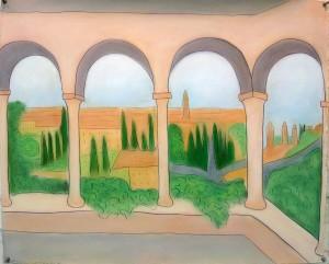 Giusti Gardens, Verona View 2013