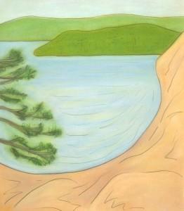 Keewaydin Rocks and Water I 2003