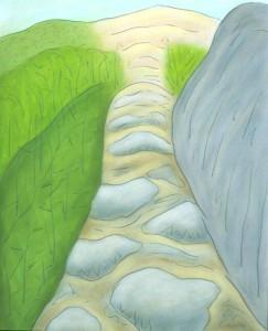 Monadnock Ascent treeline 2003