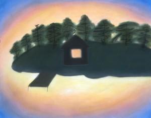 Paul's Island warm light 2003