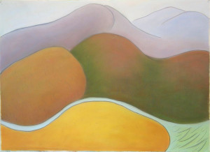 Vermont Diptych The Ridge East to Red Mountain 1991