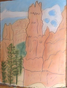 Bryce Navajo Trail I cr