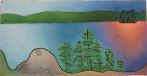 Susan Wadsworth Temagami Nightfall 2015